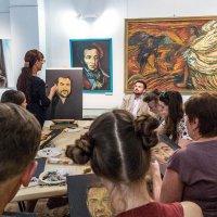 Класс живописи и программа как, что писать, искать и мыслить! :: Ирина Данилова