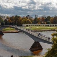 Осень над древним городом. :: Евгений Никифоров