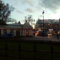 Вид на Лиговский проспект вечером. (Санкт-Петербург). :: Светлана Калмыкова