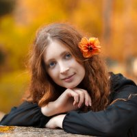 Девушка Осень :: Юрий Захаров