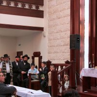 Встреча еврейского Нового Года в Синагоге :: Наталья Мячикова
