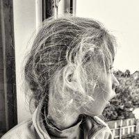 А рот открыла от восторга: летела стая журавлей :: Ирина Данилова