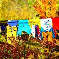 Осенние постирушки :: Екатерина Торганская