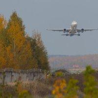 Нижегородский аэропорт осенью :: Роман Царев