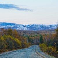 Сихоте-Алинь, первый снег! :: Ирина Антоновна