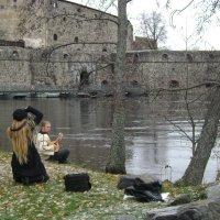 Фотосессия у старого замка :: Марина Домосилецкая