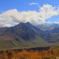 Вид на г. Каракая (3350 м.), г. Чаткара (3898м) и  Урочище Джилы-су :: Vladimir 070549