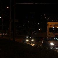 ночью на дороге :: Ольга Чазова