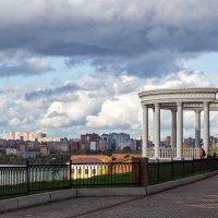 Город под облаками :: Леонид Никитин