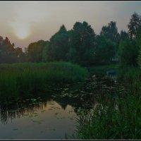 вечер в Капшино :: Дмитрий Анцыферов