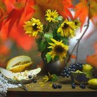 Я дарю эту осень вам на счастье с надеждой... :: Валентина Колова