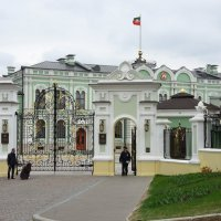 Комплекс Президентского дворца в Казанском кремле. Губернаторский дворец :: Елена Павлова (Смолова)
