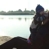 Молодая мамочка :: Дарья