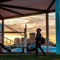 спортивная площадка, на закате :: MVMarina