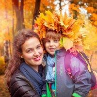 Осенняя улыбка :: Валерий Бочкарев