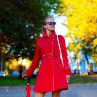 Дама в красном :: Дмитрий Боргер