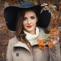 Девушка - рябина :: Валерия Photo