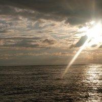 Черное море в закате :: Oleg