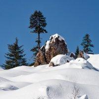 Зима в горах. :: Поток
