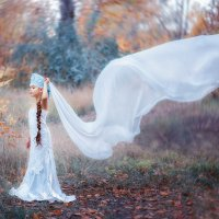 Царевна Лебедь ( прозрачное крыло) :: Ольга Егорова