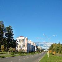 Солнечная осень в любимом городе :: Лидия (naum.lidiya)