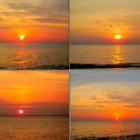 Адлер. Закат над морем :: Нина Бутко