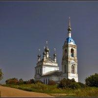 Церковь Рождества Пресвятой Богородицы в Савинском, 1822 :: Дмитрий Анцыферов
