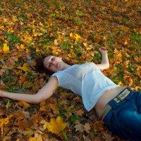 На ковре из желтых листьев :: Albina