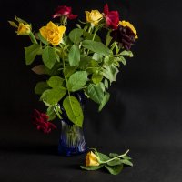 С синей вазой :: Alla