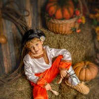 Хлопец на сеновале :: Андрей Володин