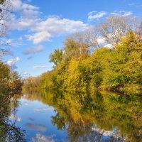 Солнечный сентябрьский день на реке Деме :: Сергей Тагиров
