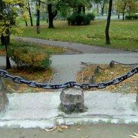 В Александровском парке на крыше грота. (Санкт-Петербург) :: Светлана Калмыкова