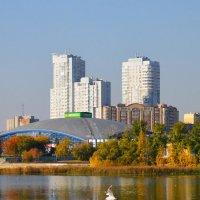 Осенние отражения Челябинска (2) :: Полина Потапова