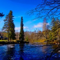 Водопад    в Рускеала :: Ольга Cоломатина