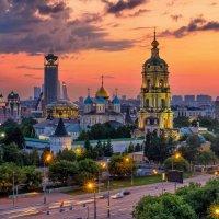 Новоспасский монастырь :: Евгений Голубев