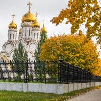 Золотая осень :: Анатолий Казанцев