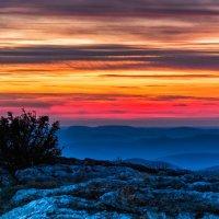 Небо в горах после заката :: Ольга