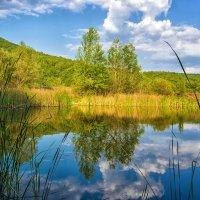 Небесное отражение :: Ольга