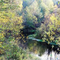 Октябрь на реке :: Николай Масляев