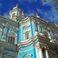 Смольный комплекс. Храм, дворы, парки. :: alemigun