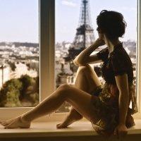 Окно в Париж :: Марина Алексеева