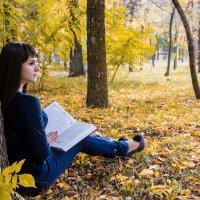 Чтение в парке :: Александр Швецов