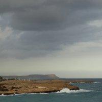 Облака над Айиа-Напой, Кипр :: svk