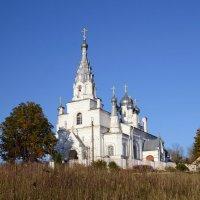 Церковь в деревне Козья гора :: Наталья Левина