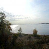 Волга в октябре :: tgtyjdrf
