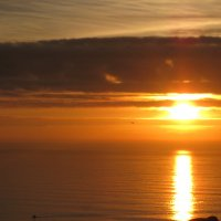 Закат на океане :: Елена Безнасюк