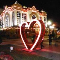 Сердце Кисловодска поздно вечером :: татьяна
