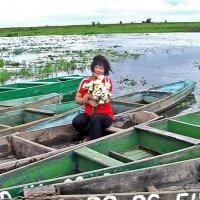 Девушка с лилиями :: Сергей