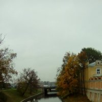 Река Монастырка осенью. (Санкт-Петербург). :: Светлана Калмыкова