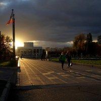 Вечерний свет октября :: Валерий Чепкасов